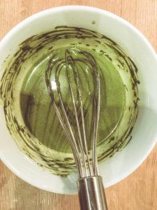 Matcha-Mousse-Torte
