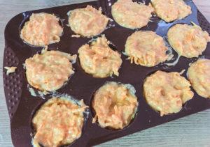 Karotten-Törtchen backen