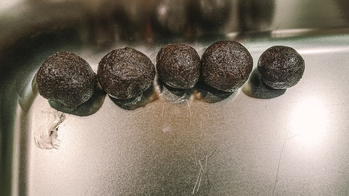 selbstgemachte Oreo-Trüffel-Pralinen